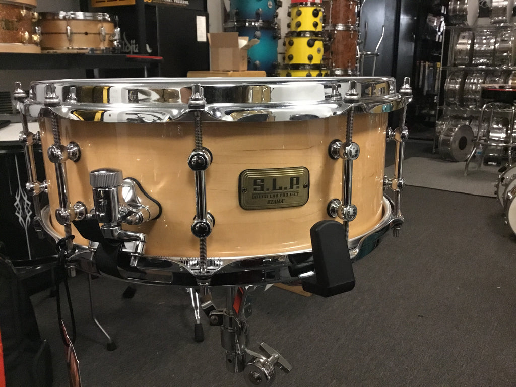 TAMA S.L.P. Classic Maple Snare Drum 14 x 5.5 in. Super Maple