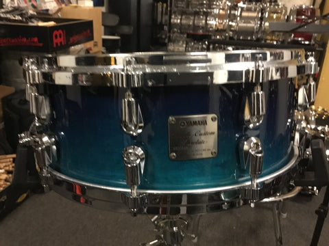 SOLD Used Rare 14x5.5 Yamaha Maple Custom Absolute Snare Drum Made in Japn