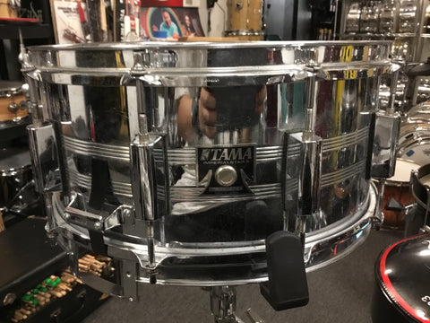 Used Tama Imperial Star Snare Drum 14x6 Made in Japan