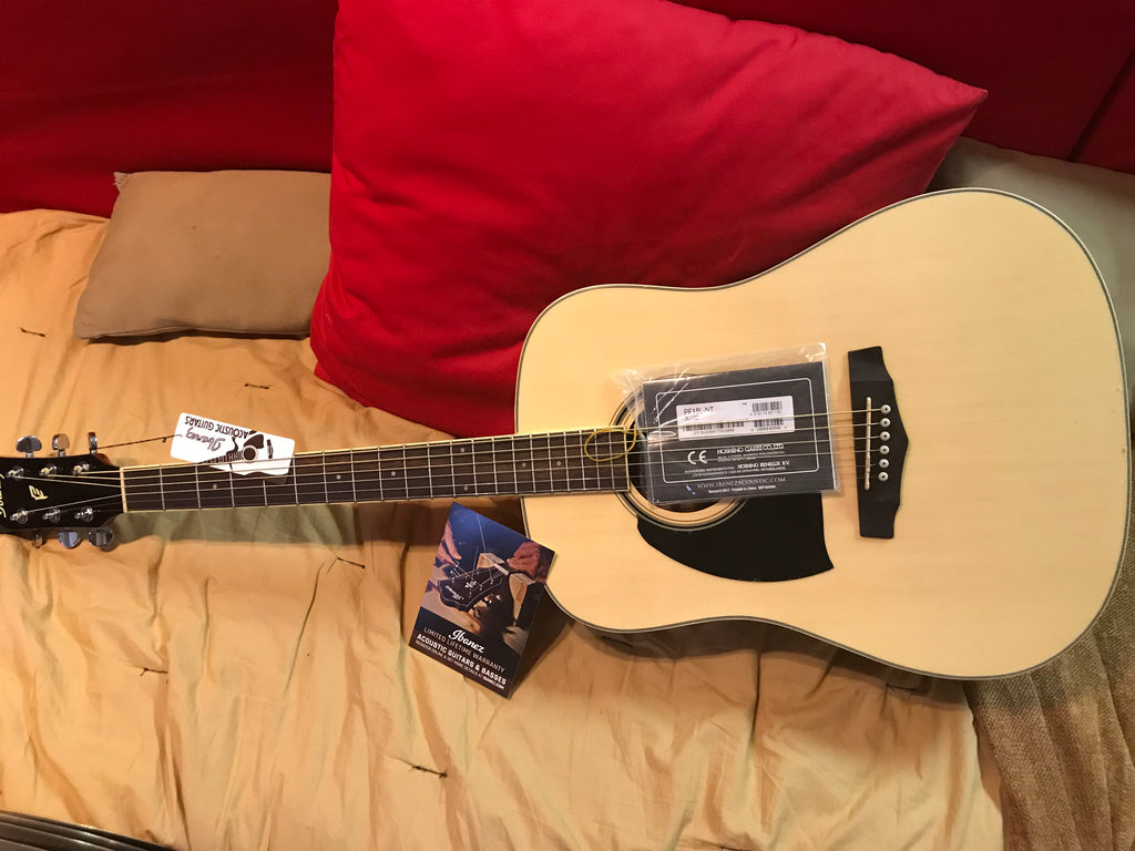 Ibanez (Left Handed) PF Performance Series Acoustic Guitar PF15LNT