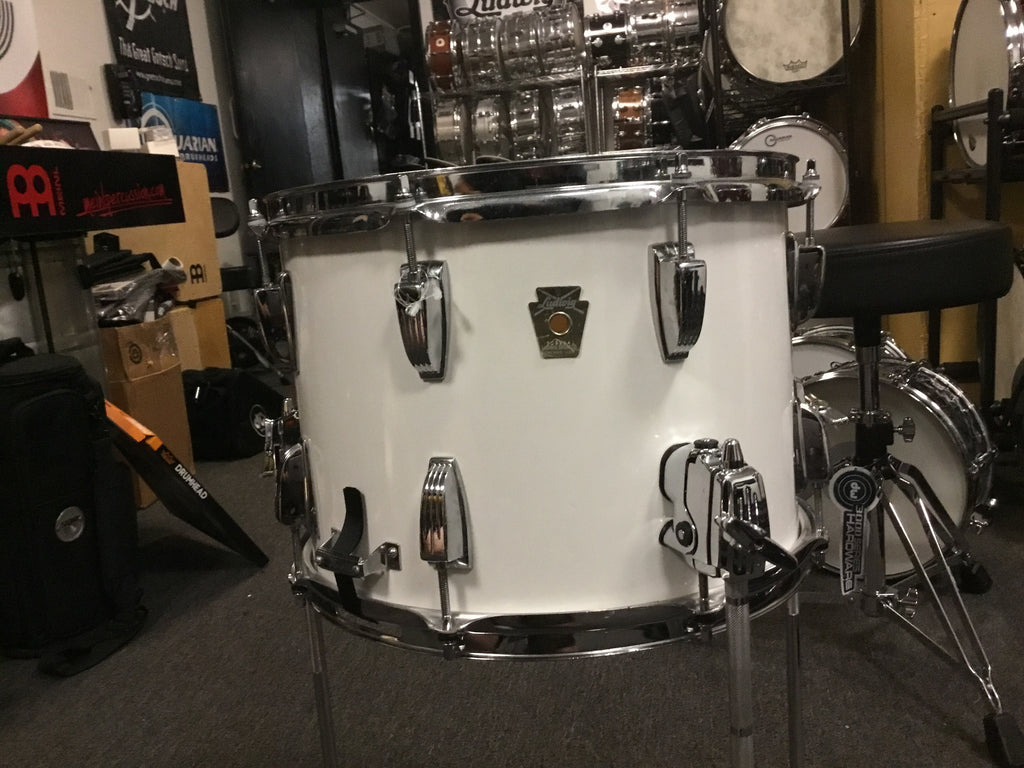 Used Ludwig Field Snare with Floor Tom Mod 14x10 Made in USA