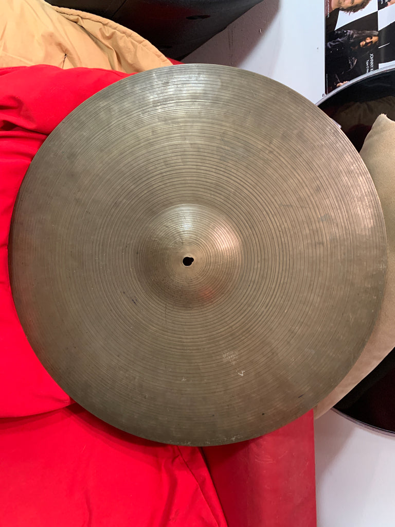 "Zildjian OLD K Istanbul 20"" Ride Cymbal 2253 grams vintage rare VIDEO"