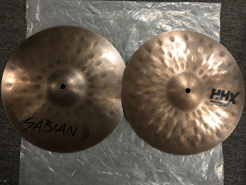 "Sabian HHX FIERCE - Jojo Mayer Signature Hi-Hats - 13"" - 1348/807 grams - New"