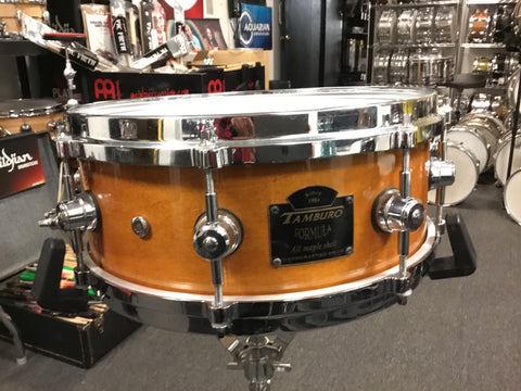 Used Tamburo Formula 13x4.75 Snare Drum