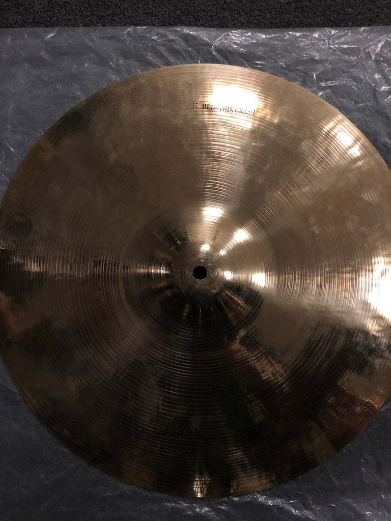 "Wuhan Medium-Thin Crash Cymbal - 17"" - 1706 grams - Demo"