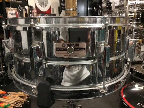 Used Yamaha SD256 Snare Drum 14x6 Made in Japn