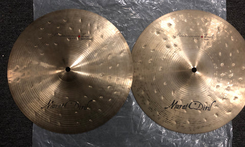 "Murat Diril Renaissance Dark Hi-Hats - 13"" - 836/990 grams - Used"