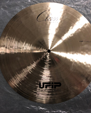 "UFIP Class Series Crash Cymbal - 17"" - 1250 grams - New"