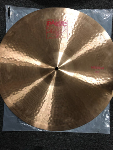 "Paiste 2002 Ride Cymbal - 20"" - 2011 grams - New"