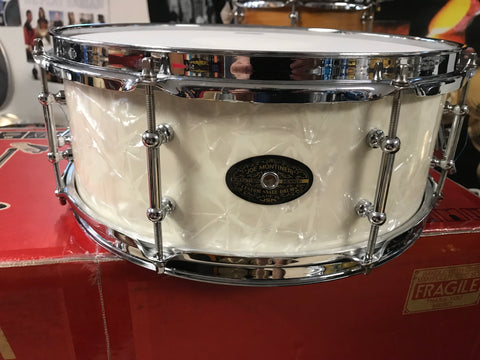 SOLD Montineri Vaughn-craft solid shell USA SNARE DRUM 5.5 by 14
