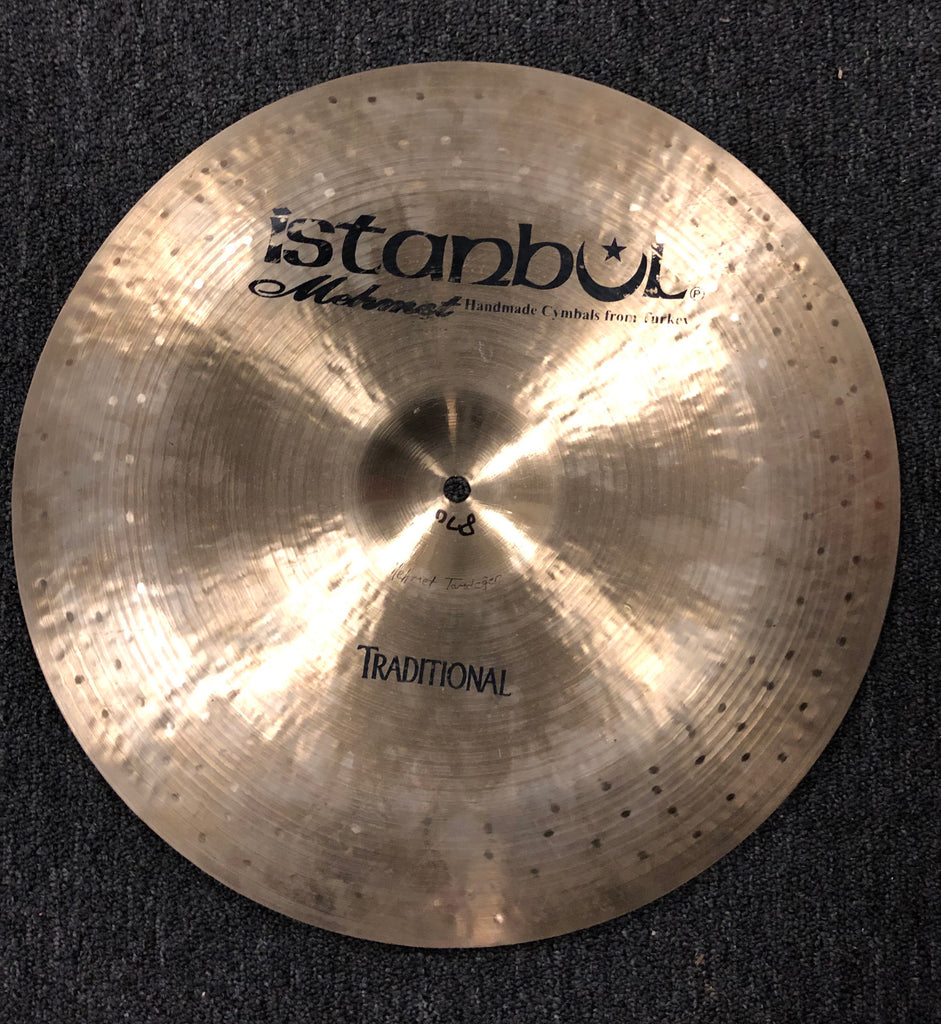 "Istanbul Traditional China Cymbal - 16"" - 870 grams - USED"