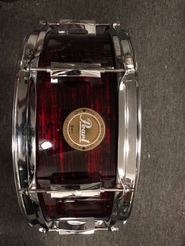 Pearl Limited edition - 5.5x14 - USED - Red Black Oyster snare drum