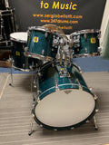 Yamaha MIJ OAK shells Japan Drum set 22 10 12 15 used