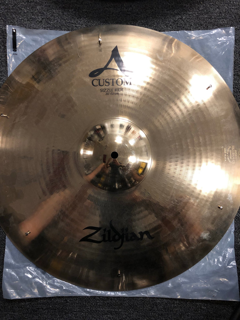 "Zildjian A Custom Sizzle Ride - 20"" - 2276 grams - New"