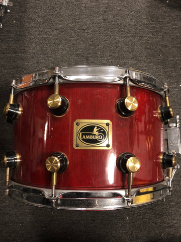 Tamburo Stave Construction Snare Drum - 8x13 - USED - Made in Italy