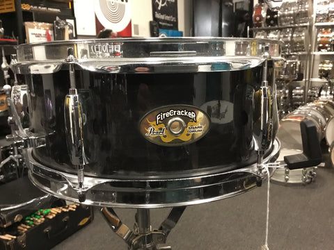 Used Pearl Firecracker snare drum 12x5 - Product Video