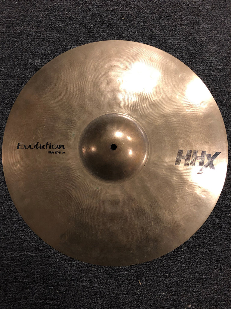 "Sabian HHX Evolution Ride Cymbal - 20"" - 2281 grams - USED"