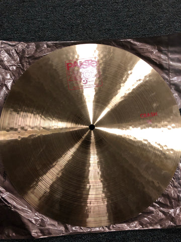 "Paiste 2002 Crash Cymbal - 18"" - 1463  grams - New"