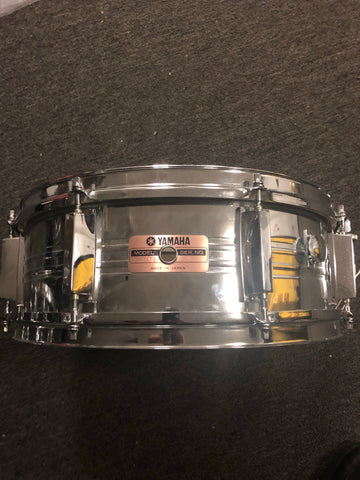 Yamaha SD-350MG Rare Steel Snare Drum - 6 x 14 - With Video
