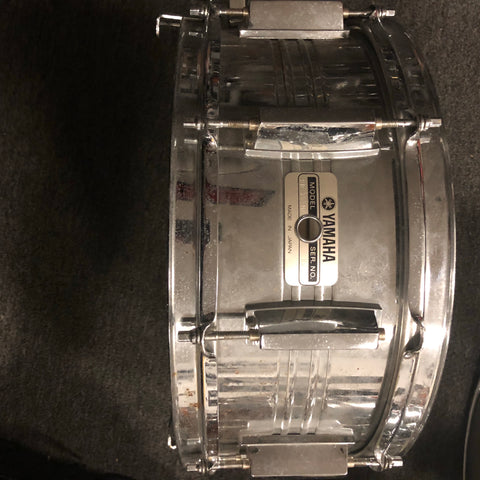 Yamaha Steel Snare Drum - SD755MD - 5 x 14 - Used - With Video