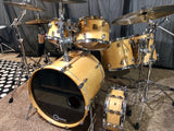 Yamaha Maple Custom Absolute JAPAN 6 pc Used Amazing Drum Set