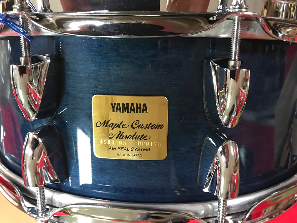 1f6452865b46 SOLD Rare new Yamaha maple Custom absolute made japan 5 by 14 NEW ...