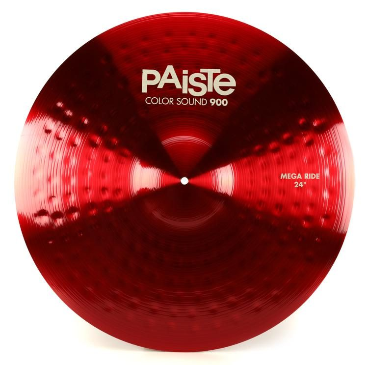 "Paiste Color Sound 900 - Mega Ride 24""- Black, Red, Purple or Blue"