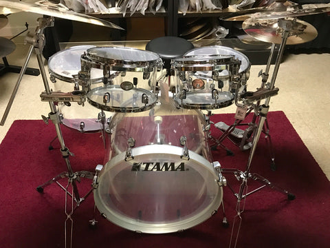 SOLD! Tama Mirage Clear 5 Pc Shell Pack  new boxed
