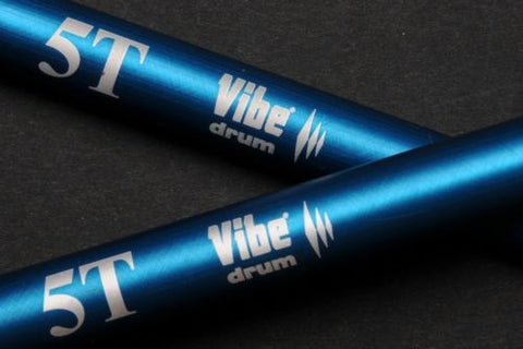 Sergio Bellotti Metal Practice Sticks 5T by Vibe (Made in Italy)- FREE SH WORLDWIDE