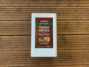 5L Taylor Brown Wood Preservative Oil