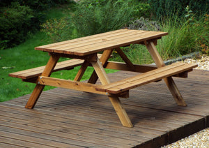 GS11 - Six Seater Picnic Table