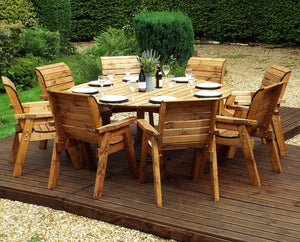 HB11 - 8 Seater Circular Table Set
