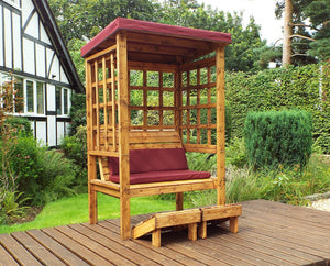 HB135B - Bramham Two Seater Arbour Burgundy