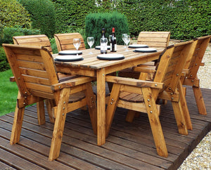 HB15 - 6 Seater Table Set