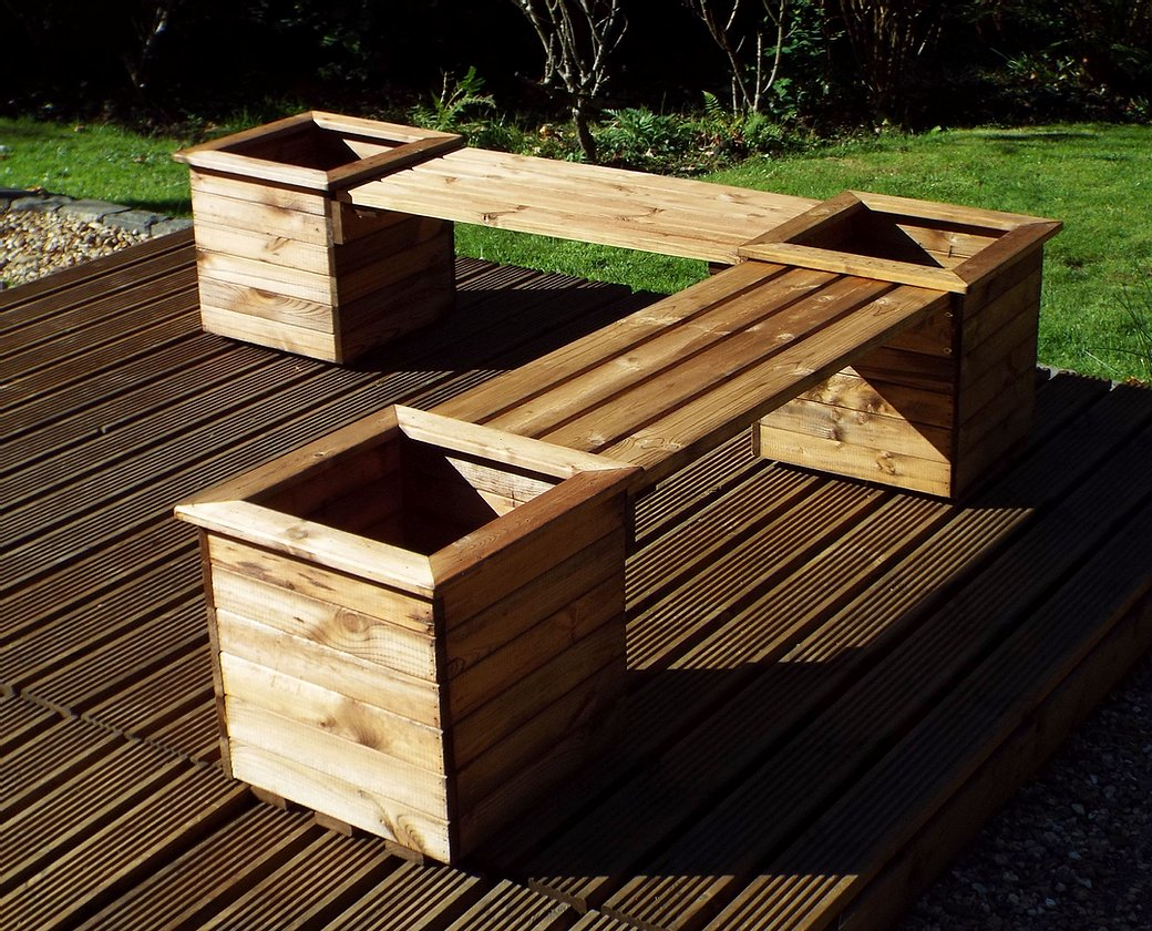 HB52 - Planter Bench Extension