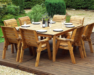 HB82 - Eight Seater Square Table Set