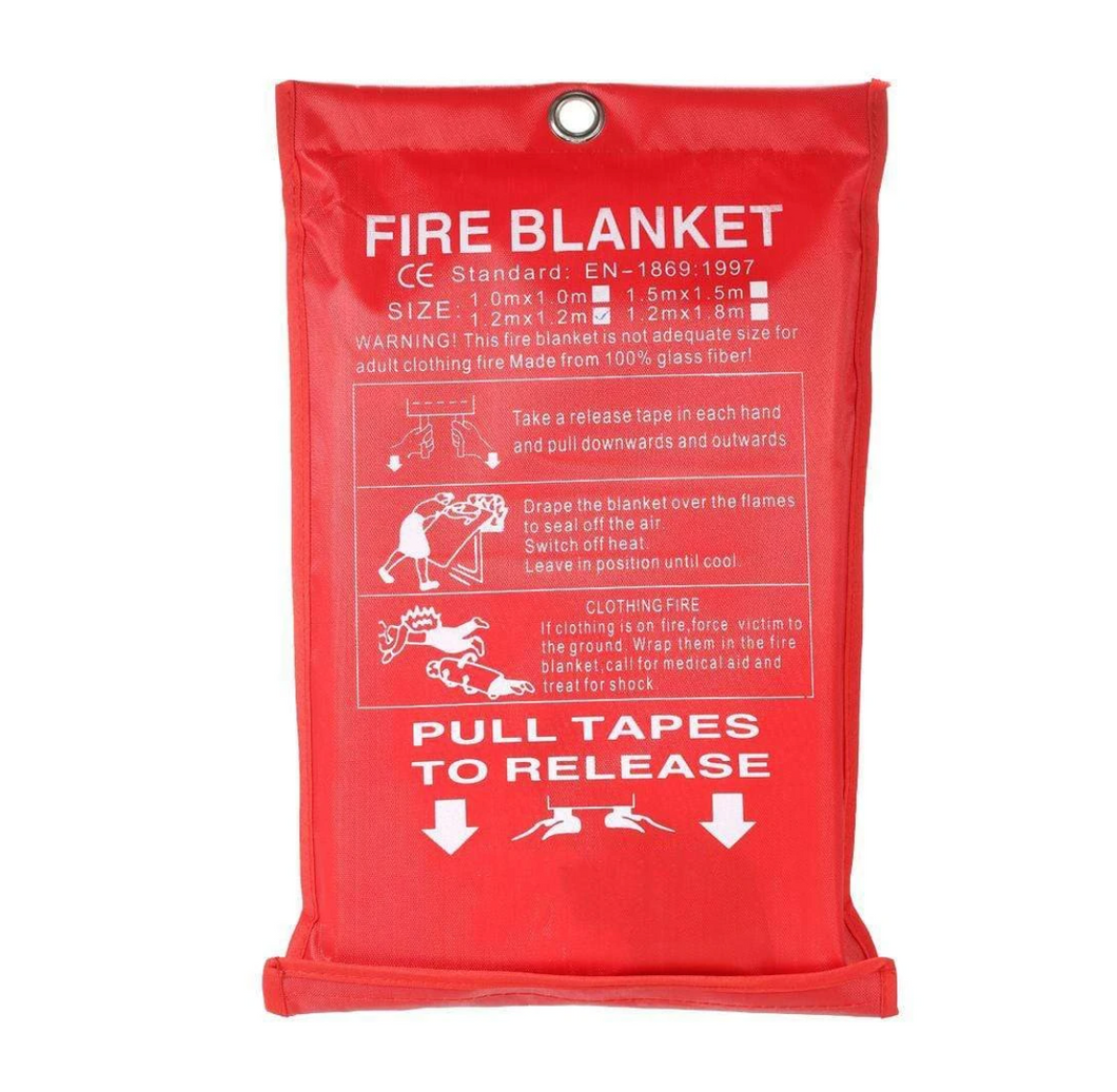 Extra Large Emergency Fire Blanket by FlameGuard™