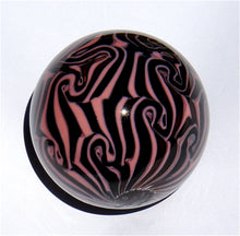 Load image into Gallery viewer, Handblown Small Damascus Marbles - MUSHROOM/BROWN