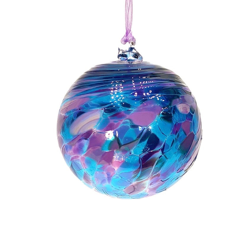 Blown Glass Friendship Balls, Medium and Small Size