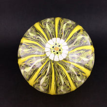 Load image into Gallery viewer, Filigree Ribbon Murrini Balls - YELLOW FIL RIB