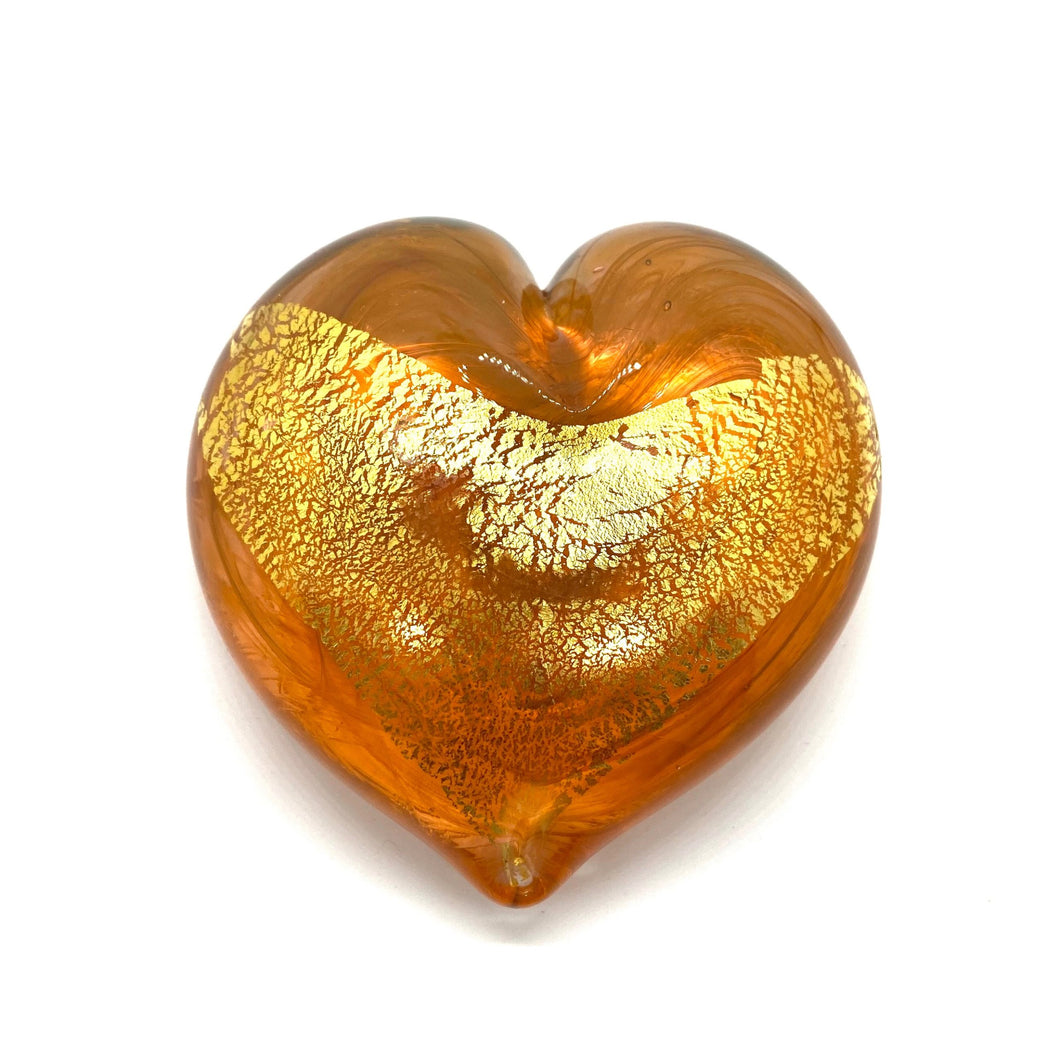 Large Hearts of Gold 23K Italian Gold Leaf - GOLD