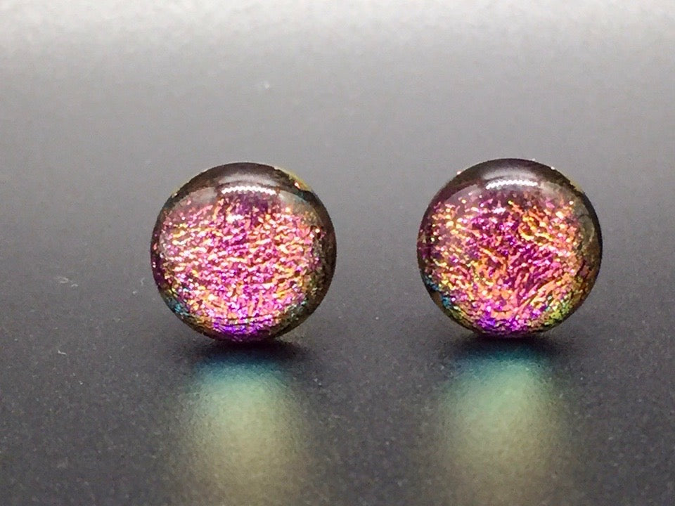 Stardust Stud Earrings - Pink