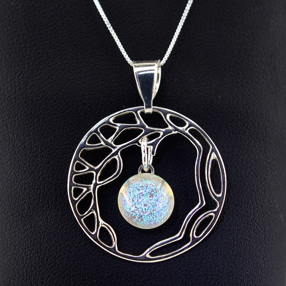 Stardust Sterling Pendant Necklaces with Sterling Silver Chain - TREE OF LIFE