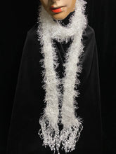 Load image into Gallery viewer, Artisan Knitted Scarf 'White'