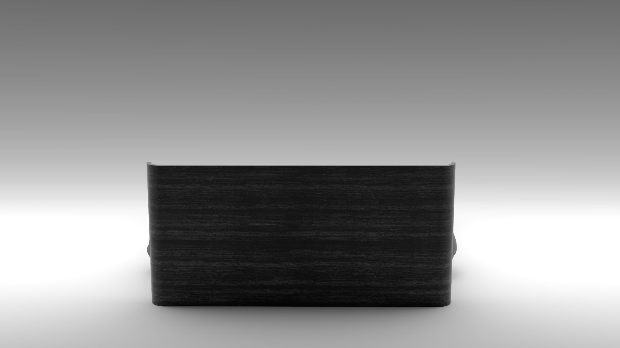 guimar bed, solid oak, solid black oak, akar guimar, akar anthracite
