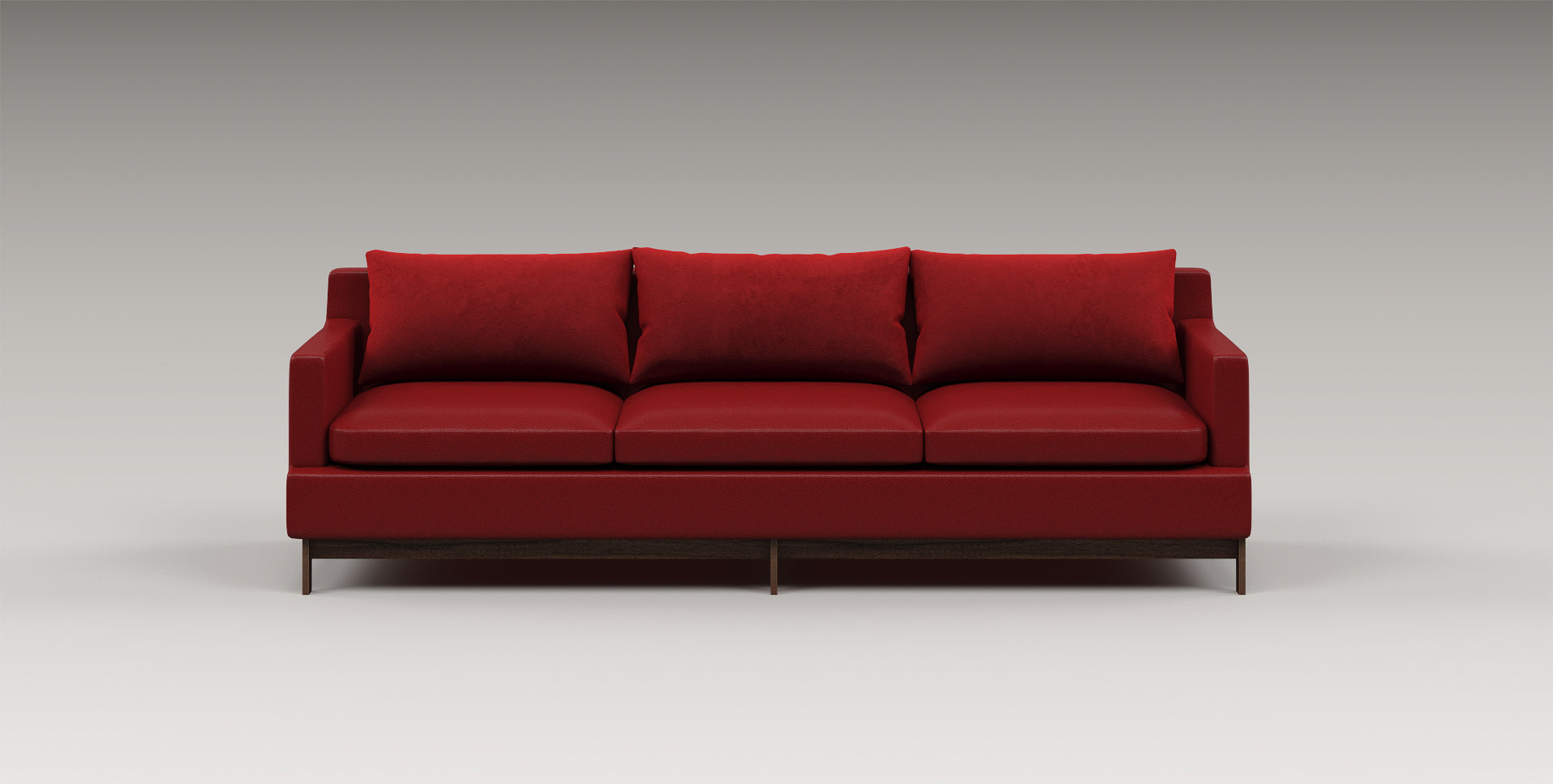 red sofa, luxury furniture, designer sofa, big sofa, suede sofa, leather sofa, bespoke furniture, 2 seater, 3 seater, 4 seater, designer sofa, comfortable pillows,