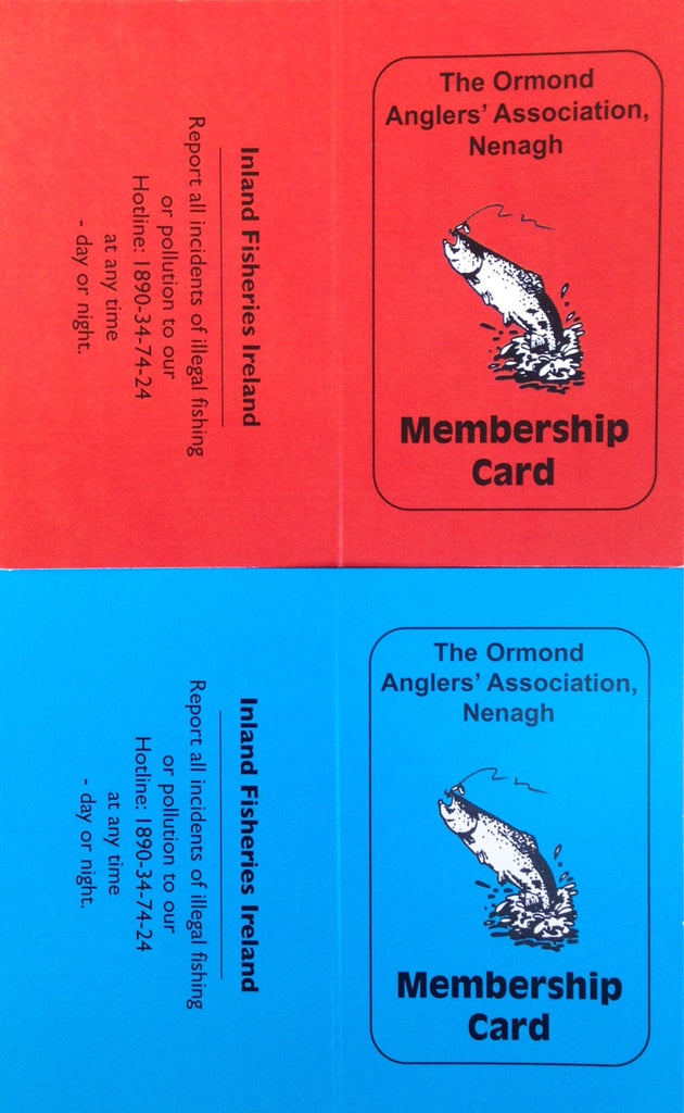 Ormond Anglers Membership Cards now available in-store/online