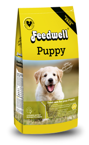 New!  Feedwell Puppy joins our Feedwell range of dog food