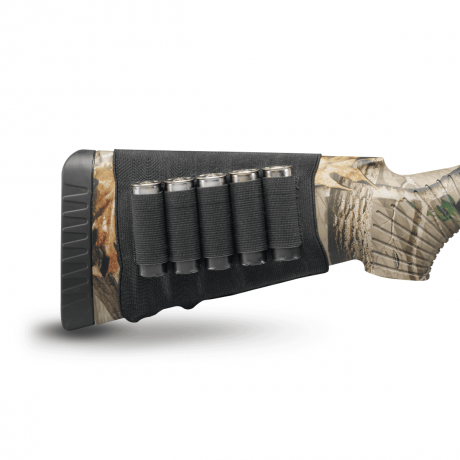 Hunter's Specialities 5-Cartridge Shotgun Butt Stock Holder