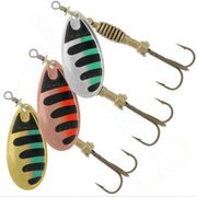 Rublex Celta Trout Spinner Lures Size 0, 1, 2